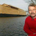 Dutch man builds an exact scale replica of Noah's Ark