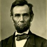 Abraham Lincoln in 1863 when President of the USA