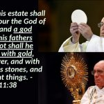 Daniel 11:36-39 – A Prophecy of the Pope of Rome!