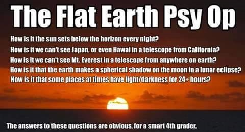 The Flat Earth Deception